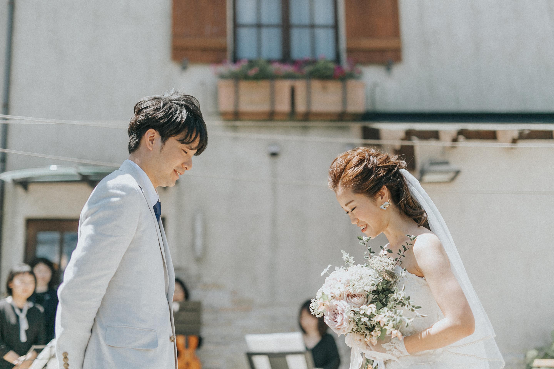 結婚式の挙式前に行える心に残る時間の使い方