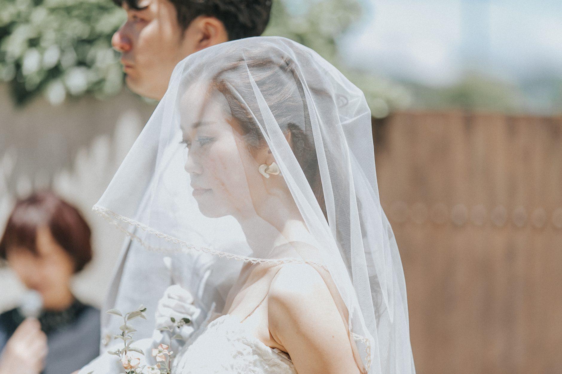 結婚式で人気の演出!絆が深まるベールダウンの儀式のパターンをご紹介